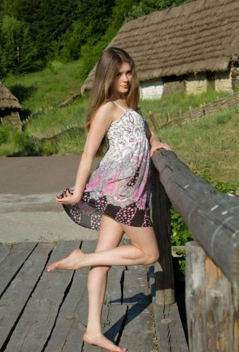 Słowiańska nastolatka