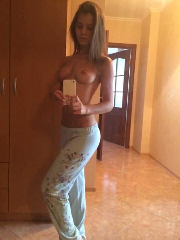 Selfie w piżamce